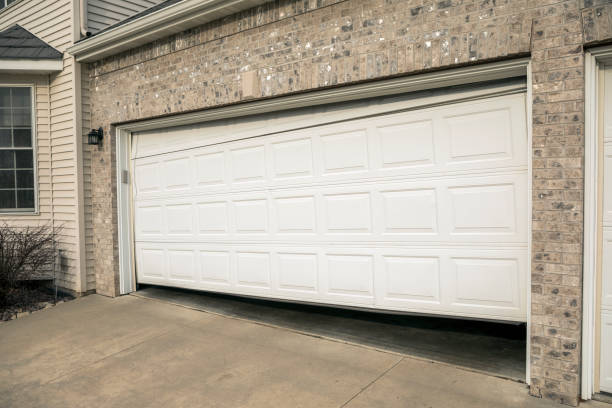 Two car garage pictures images and stock photos istock 2 car garage doors