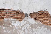 Broken wall