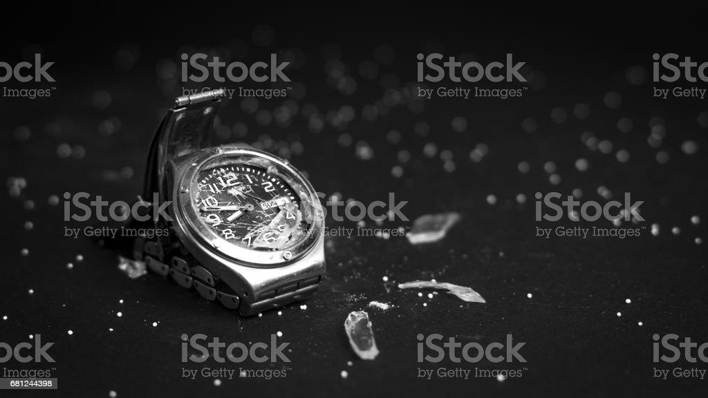 Broken Watch stock photo