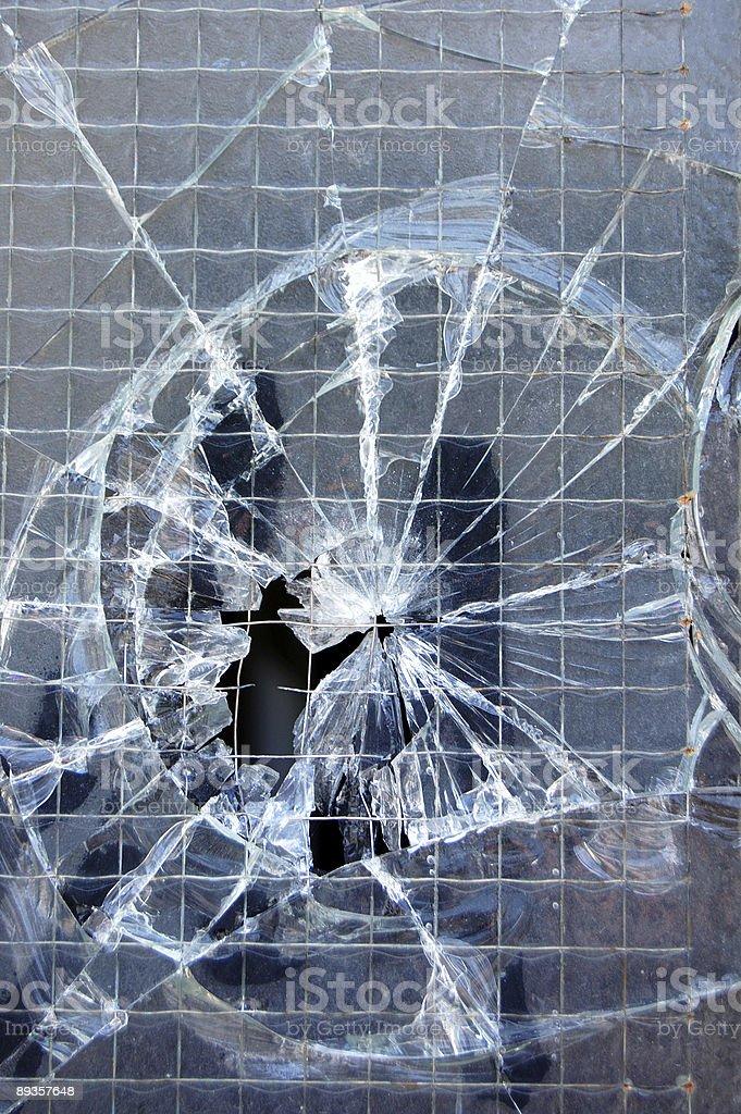 broken window texture royaltyfri bildbanksbilder