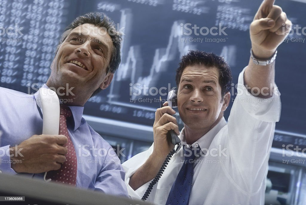 Broker royalty-free stock photo