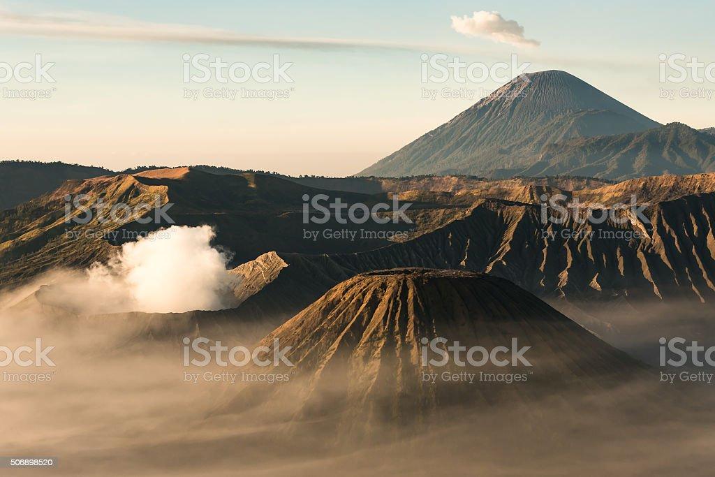 Bromo Mountain. Volcano in Indonesia stock photo