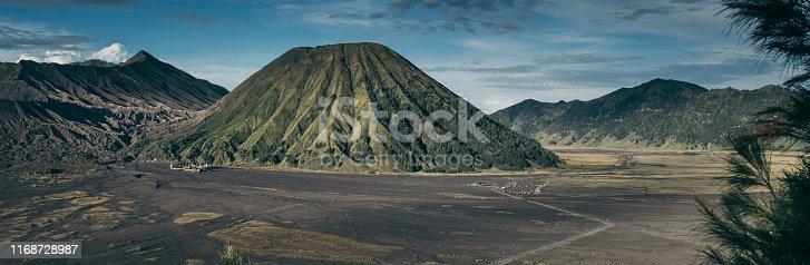 Tropical volcanic landscape