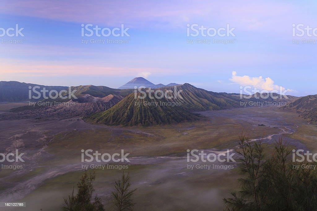 Bromo Volcano Mountain royalty-free stock photo