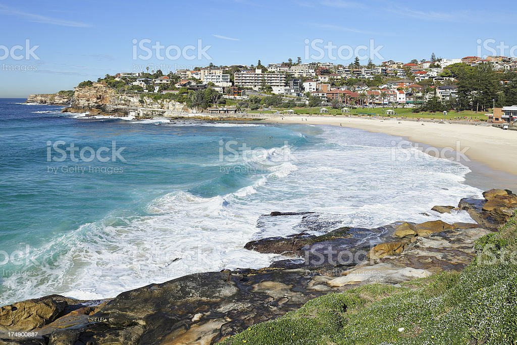 Bronte Beach, Sydney royalty-free stock photo
