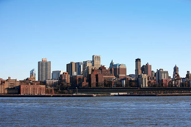 NYC - Bronx, view from Manhattan, USA stock photo