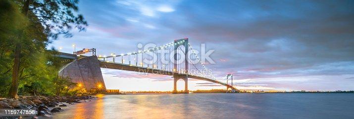 Bridge - Built Structure, Sunset, Built Structure, Dusk, East River