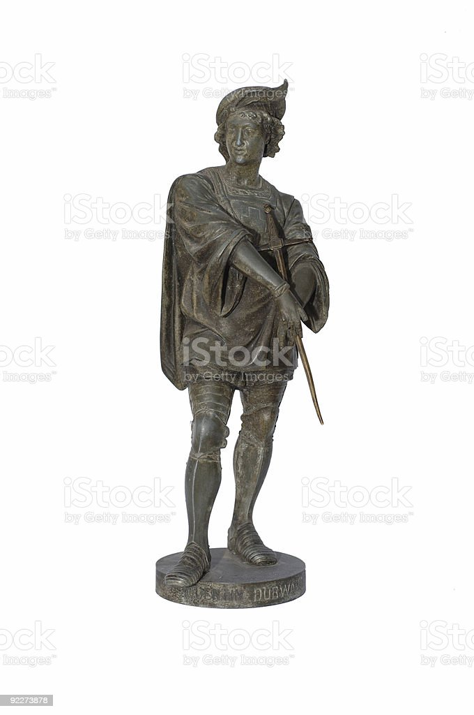 Bronze Antique Statue royalty-free stock photo
