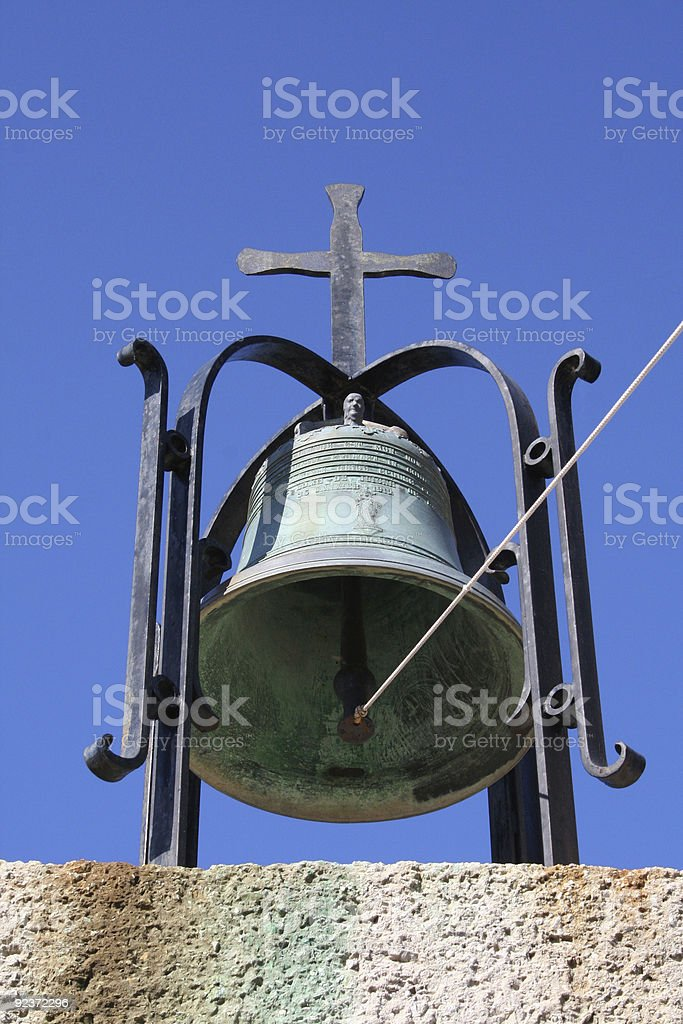 Bronze Bell royalty-free stock photo