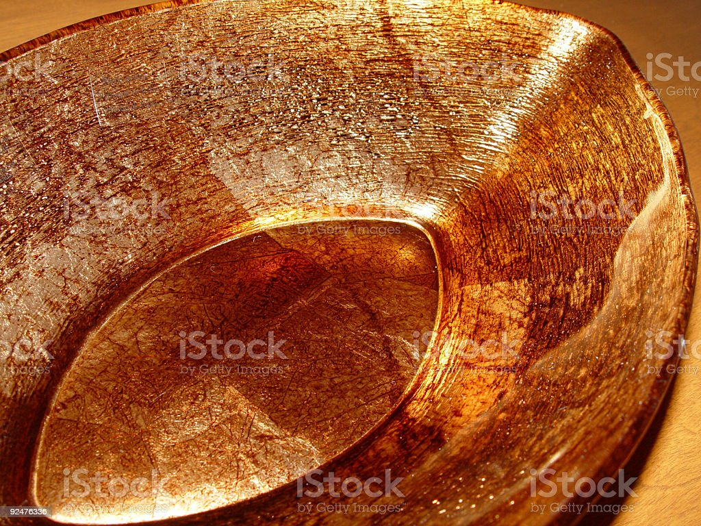 Bronze Bowl 1 royalty-free stock photo