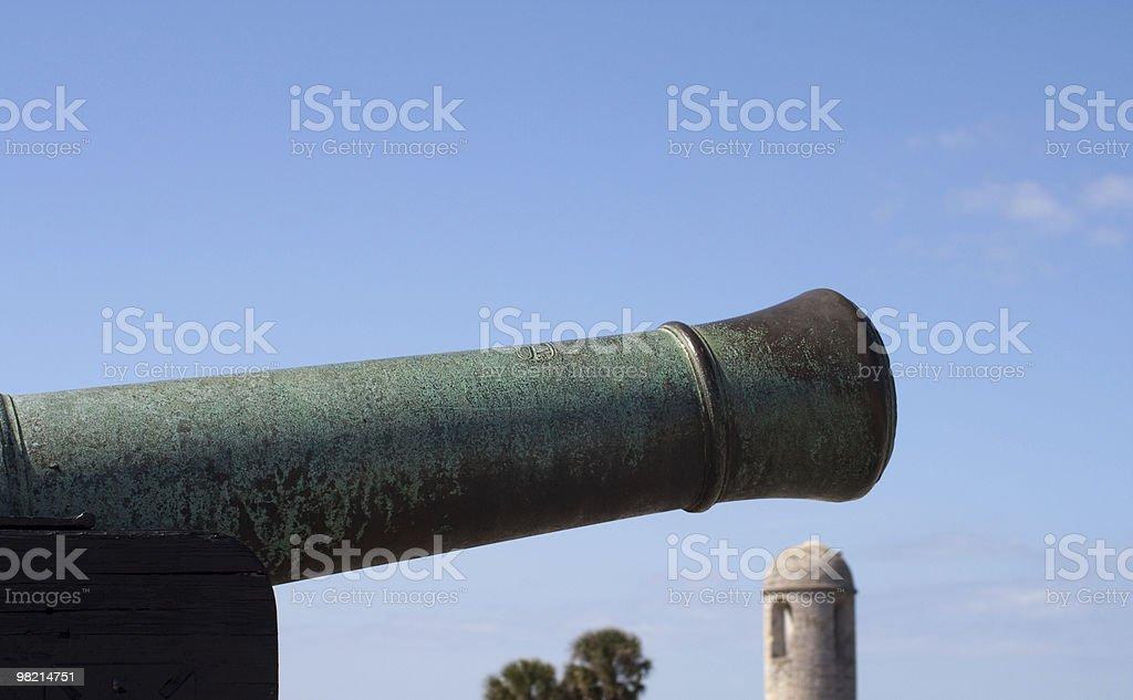 Bronze Cannon royalty-free stock photo
