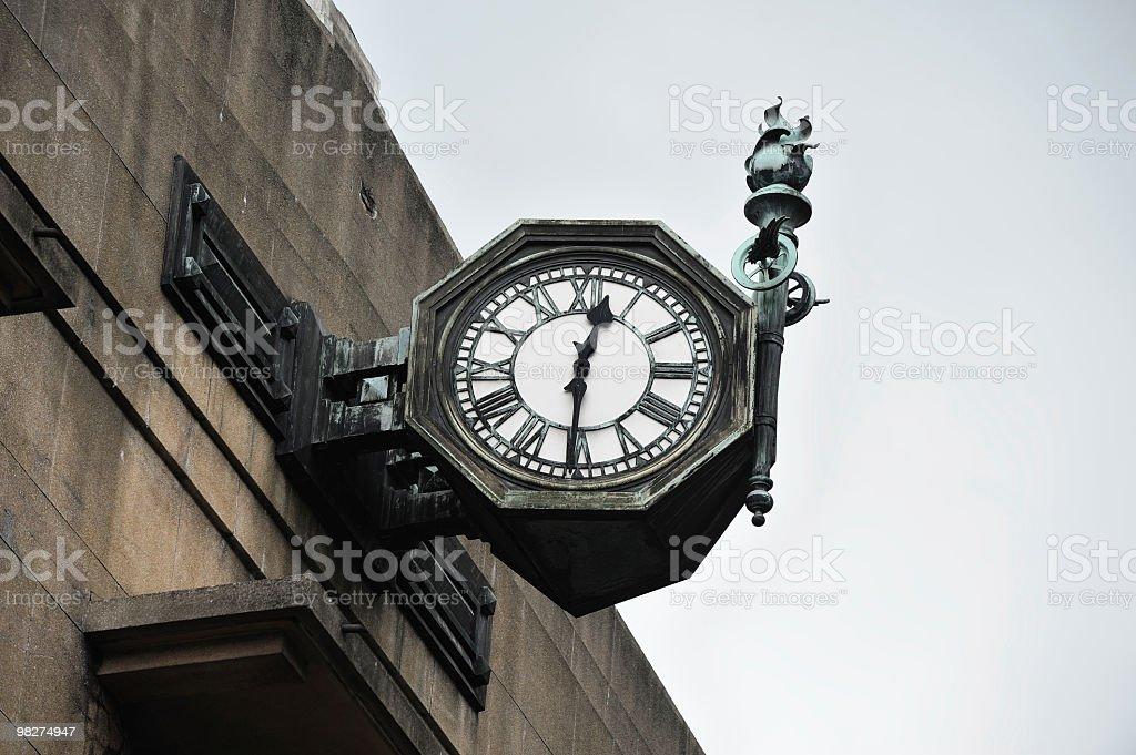 Bronze Clock royalty-free stock photo