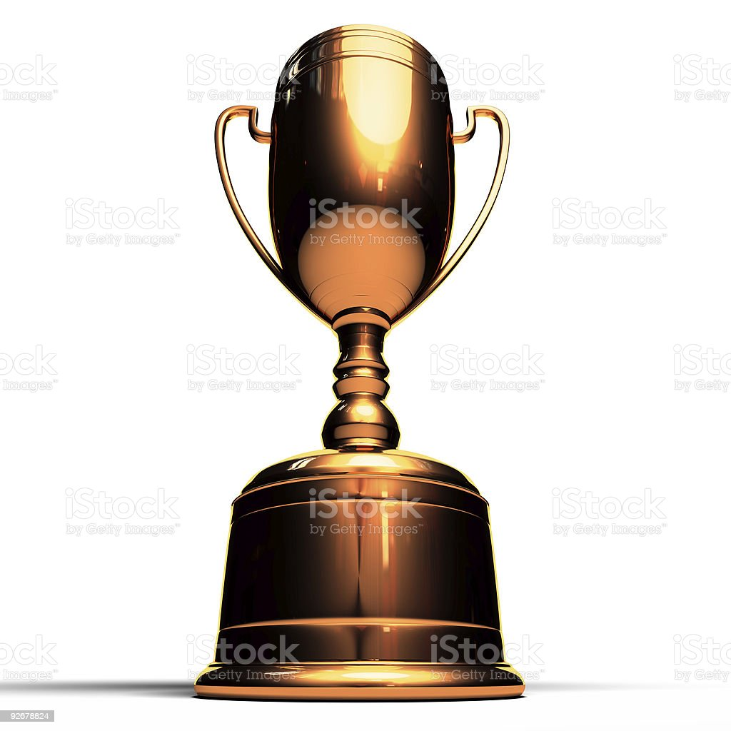 Bronze Cup royalty-free stock photo