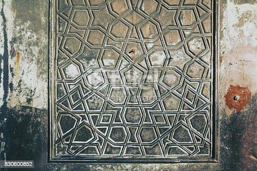 Door detail of blue mosque