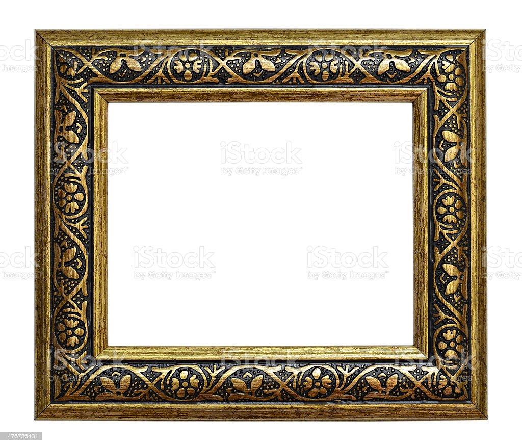 Bronze frame royalty-free stock photo