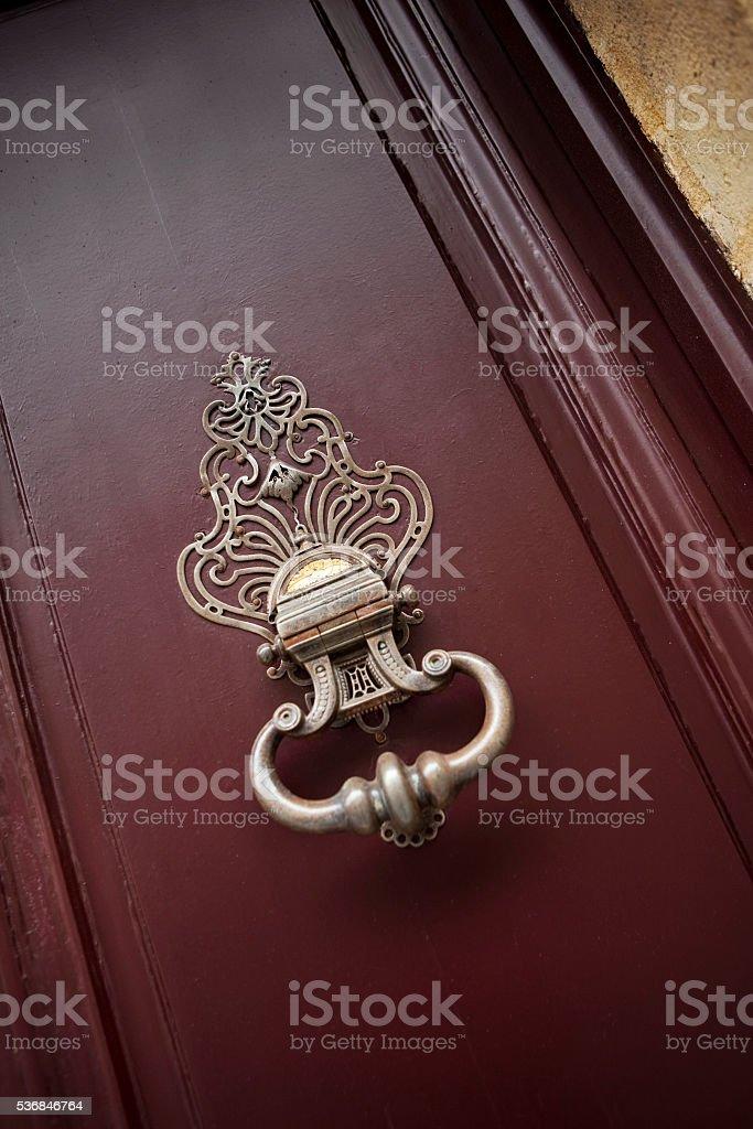 Bronze avertisseur pour la porte - Photo