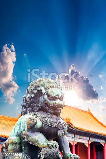 Forbidden City,china,lion,history