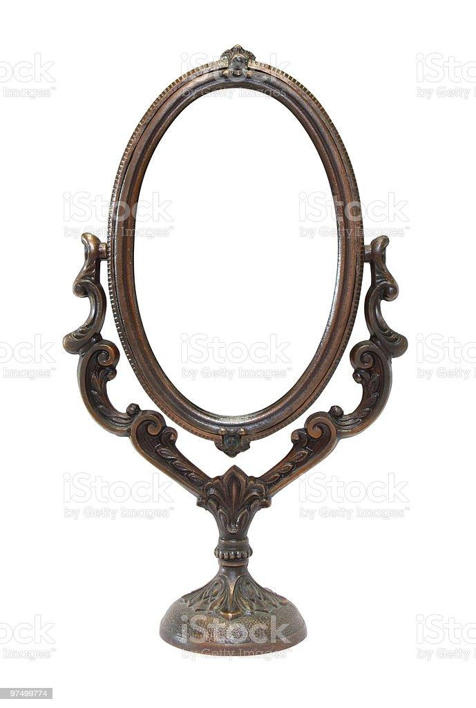 bronze mirror royalty-free stock photo
