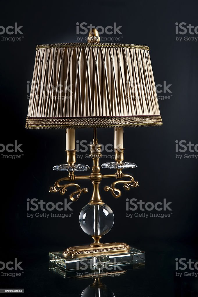Bronze old lamp royalty-free stock photo