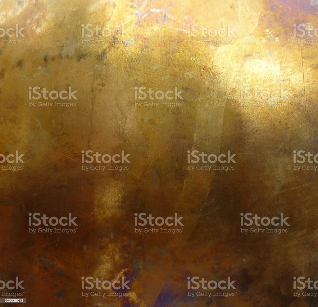 bronze or brass metal texture stock photo