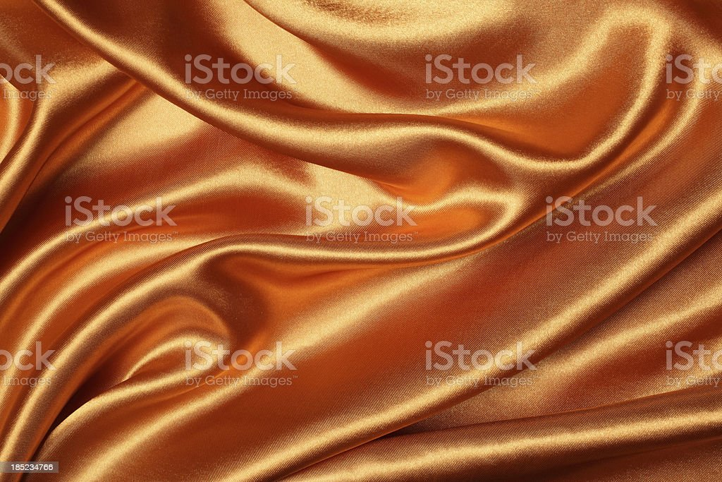 Bronze Silk Texture royalty-free stock photo