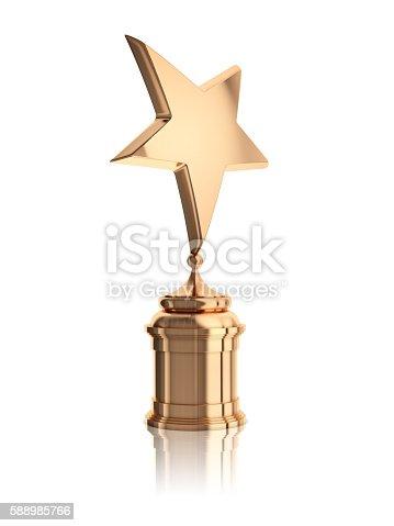 istock bronze star award 588985766