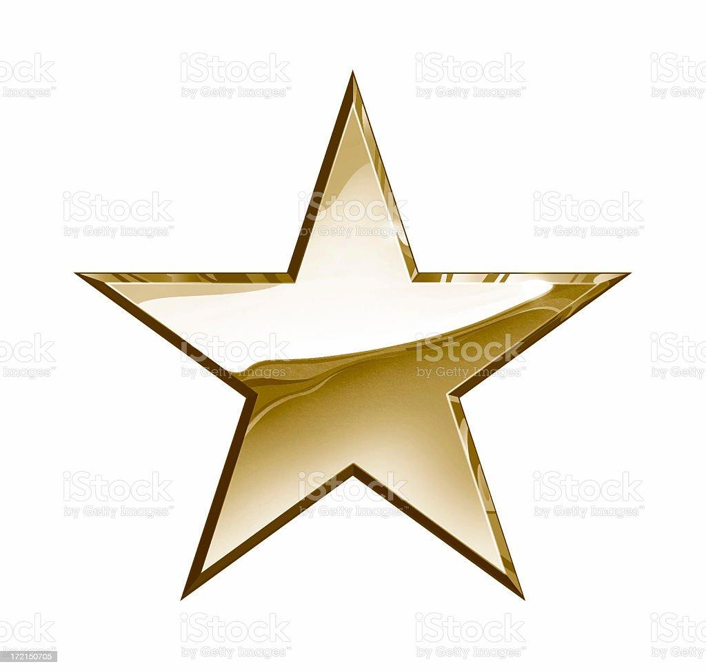 Bronze Star royalty-free stock photo