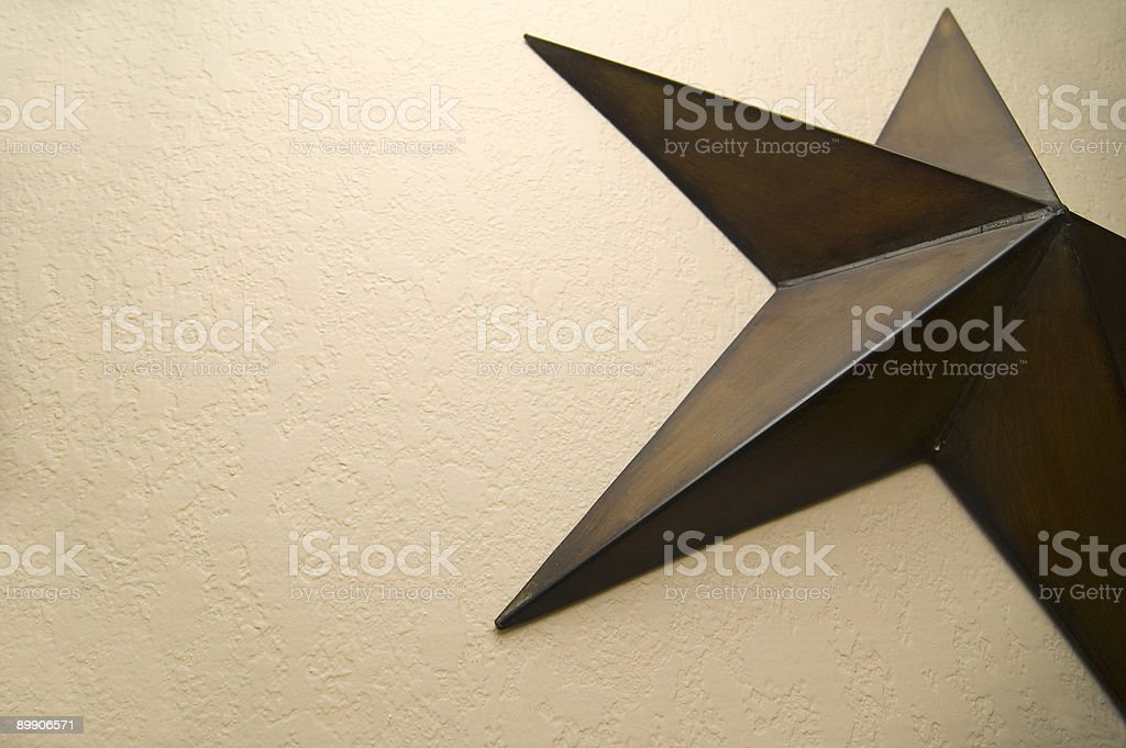 bronze star stock photo