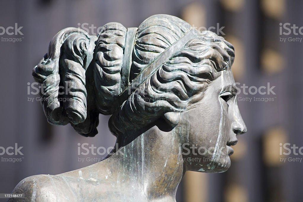 Bronzestatue der Innenstadt – Foto