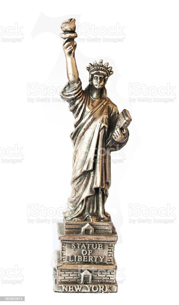 Bronze Statue of Liberty souvenir stock photo