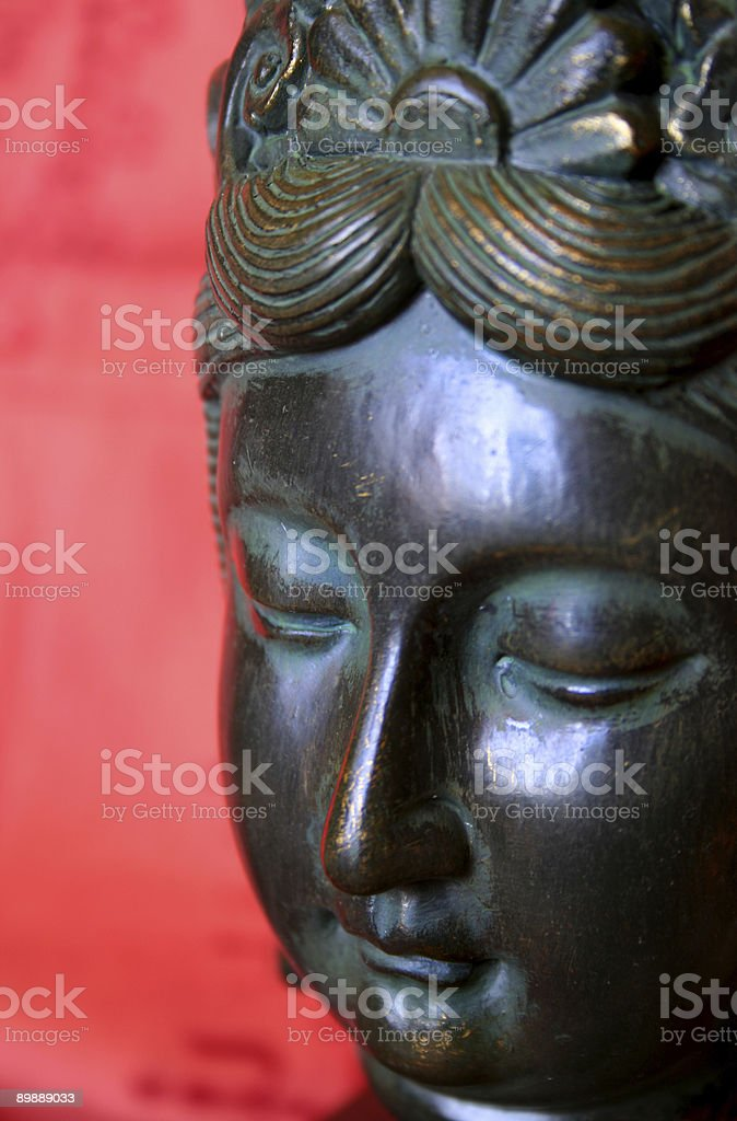 bronze statue stock photo