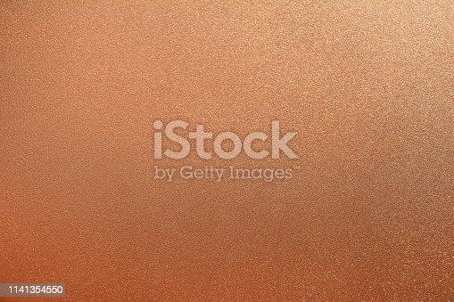 istock Bronze texture background. Copper background texture 1141354550