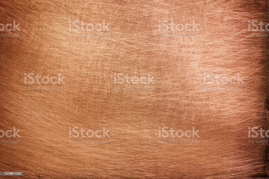 bronze texture, color stripped metal sheet gloss stock photo