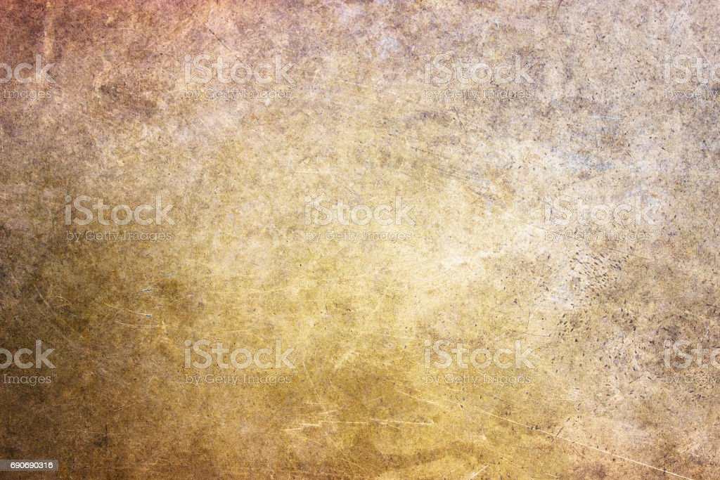 bronze texture, golden hue metal surface as a background stock photo