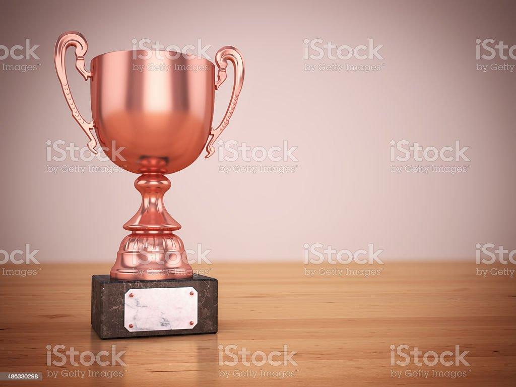 Bronze-Auszeichnung - Lizenzfrei 2015 Stock-Foto