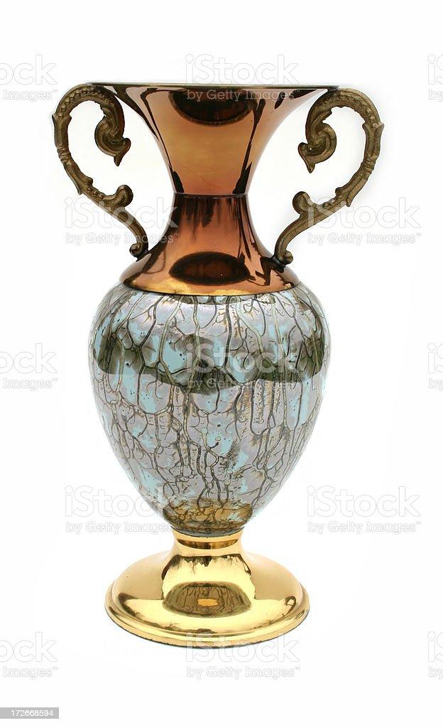 Bronze Vase stock photo