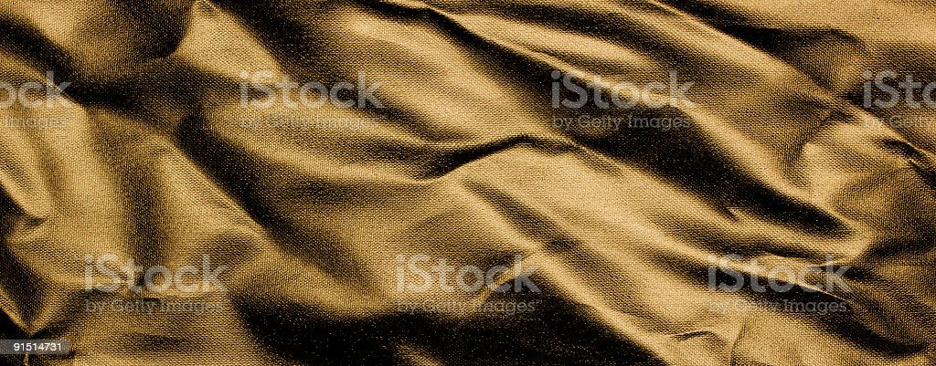 Bronze Wrinkled Reflective Texture Background royalty-free stock photo