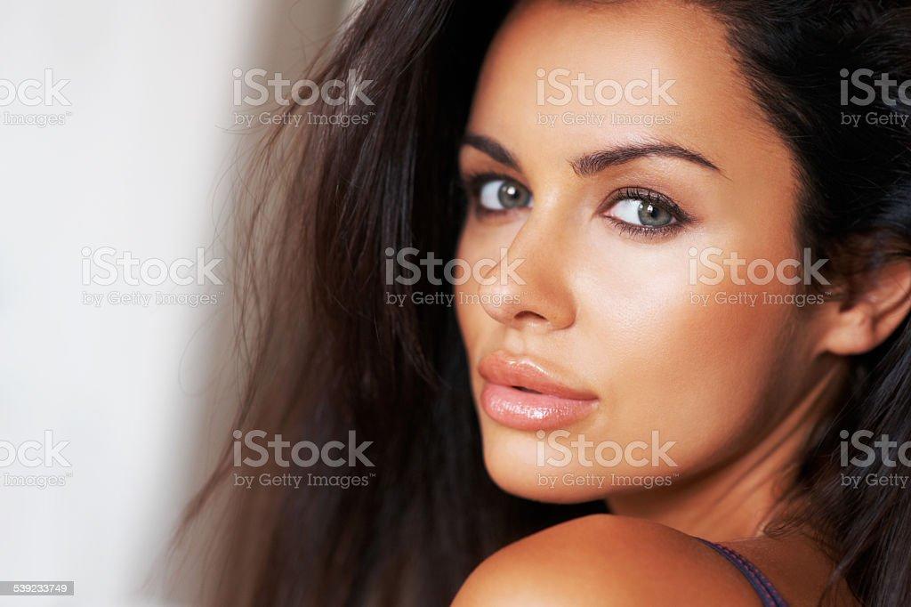 Bronzed beauty royalty-free stock photo