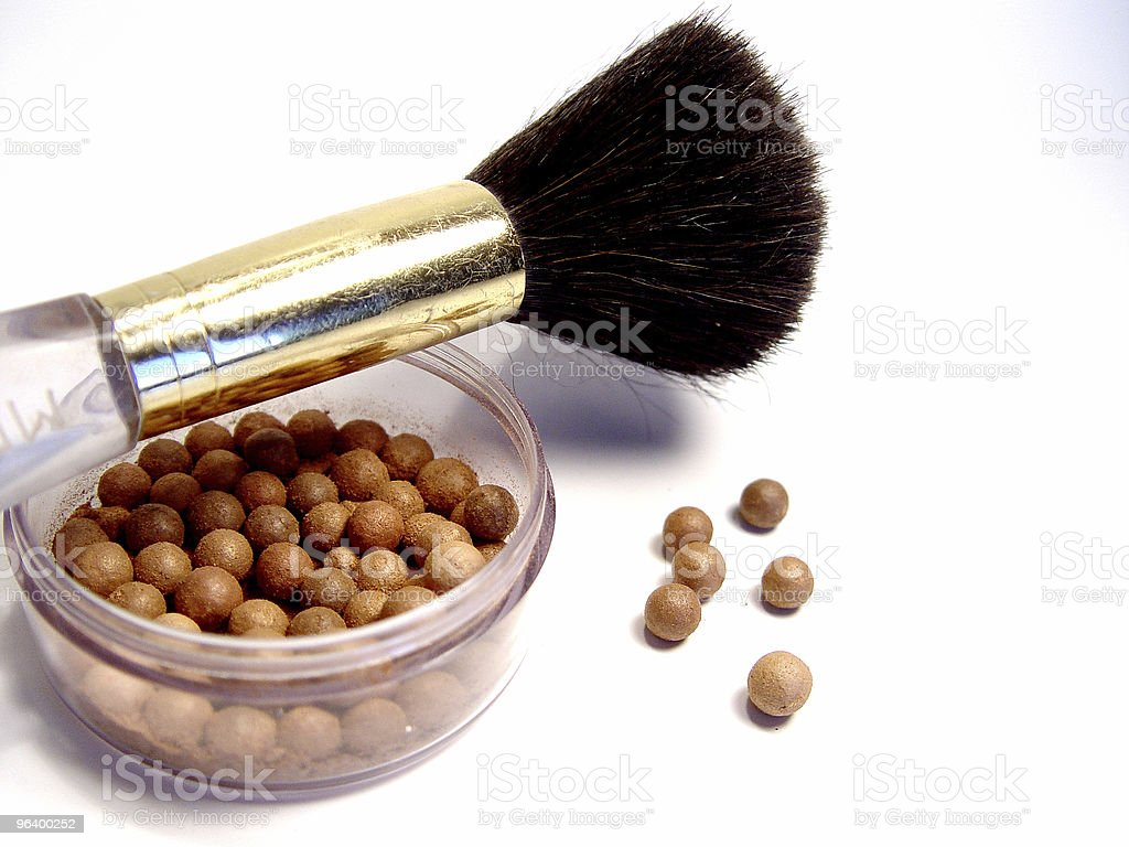 Bronzing Beads Makeup - Royalty-free Abstract Stock Photo