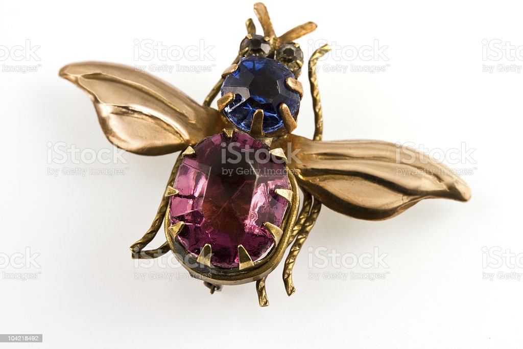 Brooch,  antic jewelry royalty-free stock photo