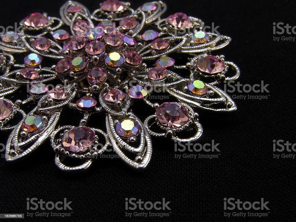brooch - jewellery royalty-free stock photo