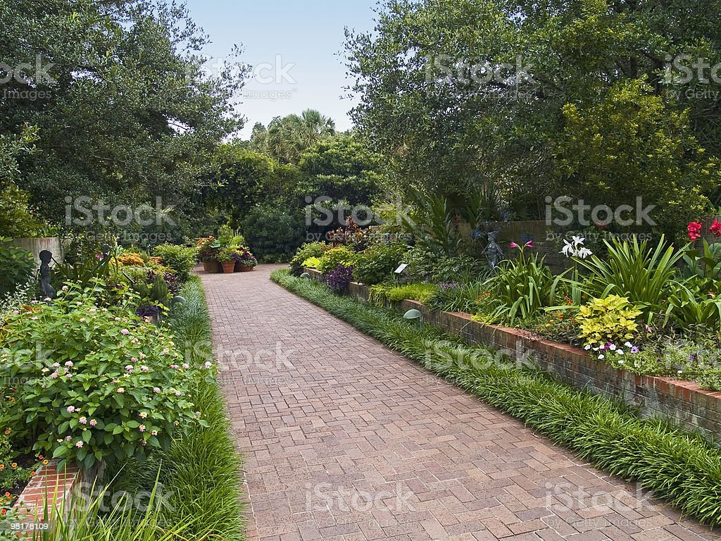 Brookgreen percorso foto stock royalty-free