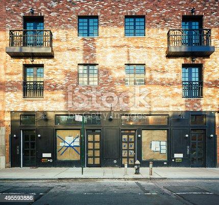 istock Brooklyn apartment buildings under renovation 495593886