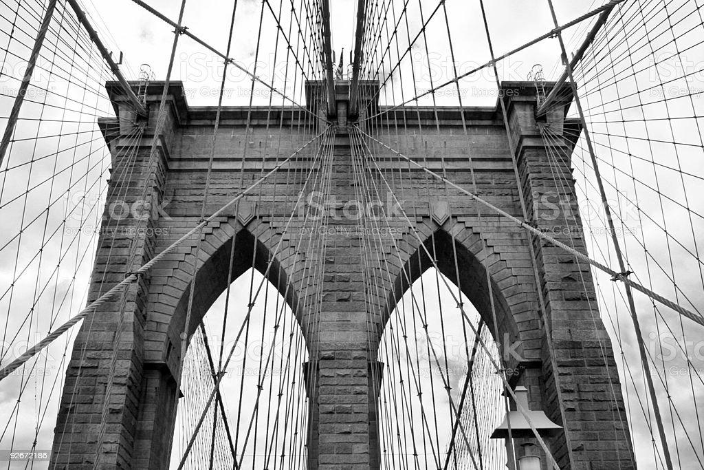 Brooklyn Bridge 01 royalty-free stock photo