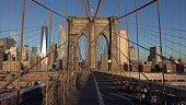 The Famous Brooklyn Bridge, New York City, USA