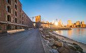 New York City, Urban Skyline, City, Brooklyn Bridge, Bridge - Built Structure