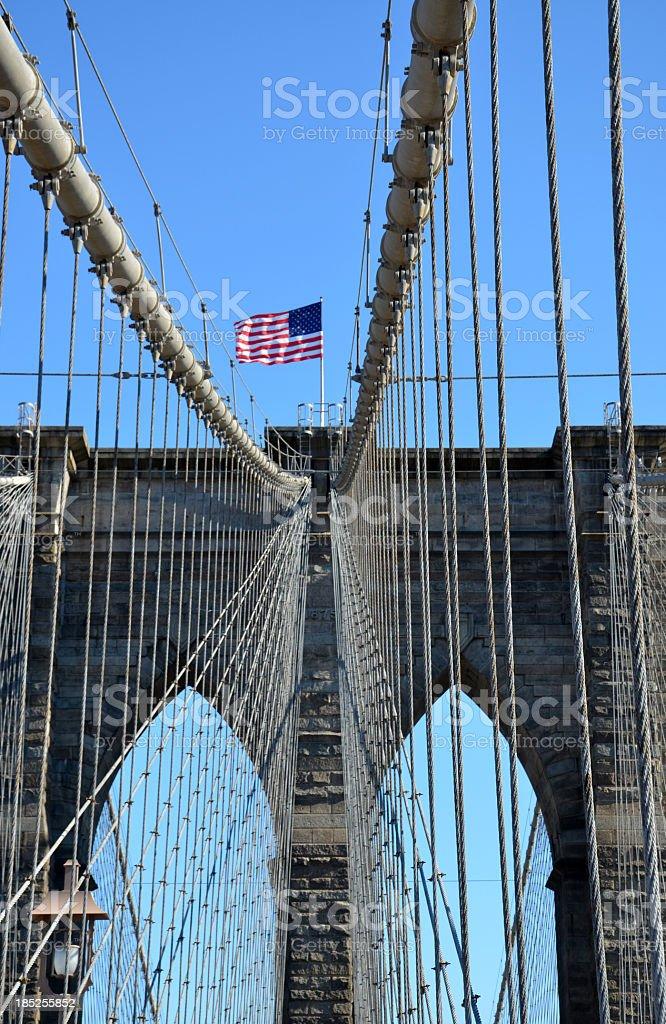 Brooklyn Bridge Detail stock photo