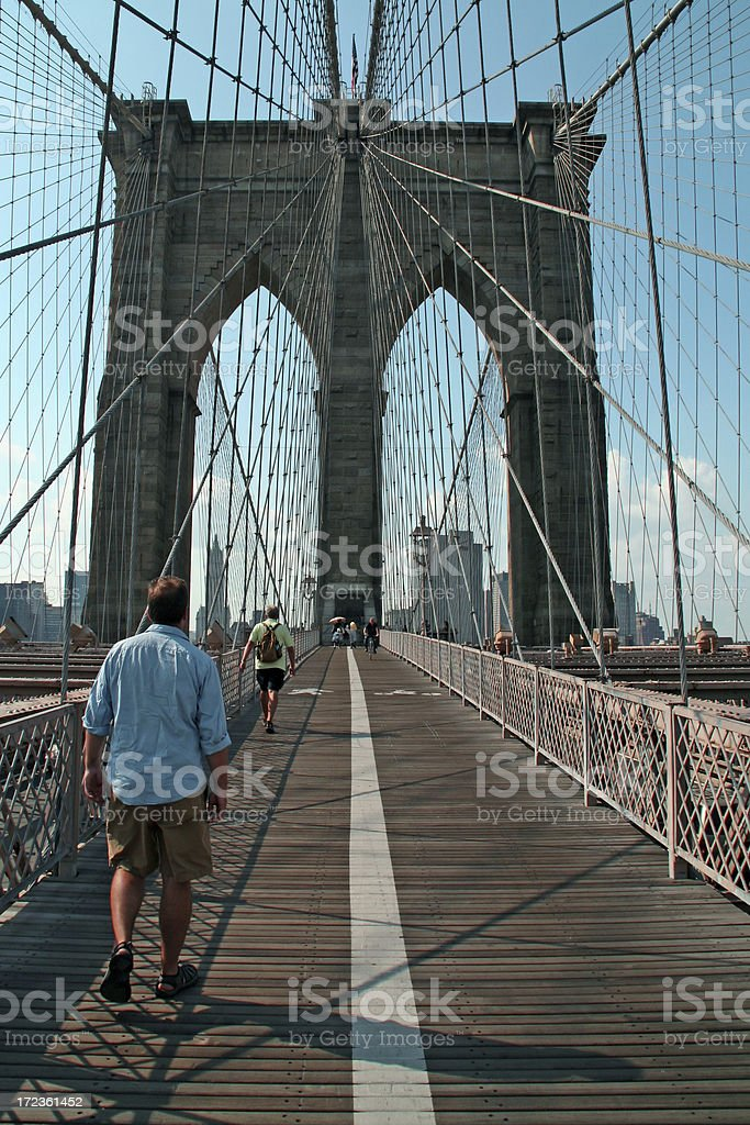 Brooklyn bridge - New York # 1 royalty-free stock photo