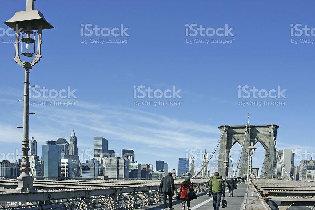 Brooklyn bridge New York # 3 royalty-free stock photo