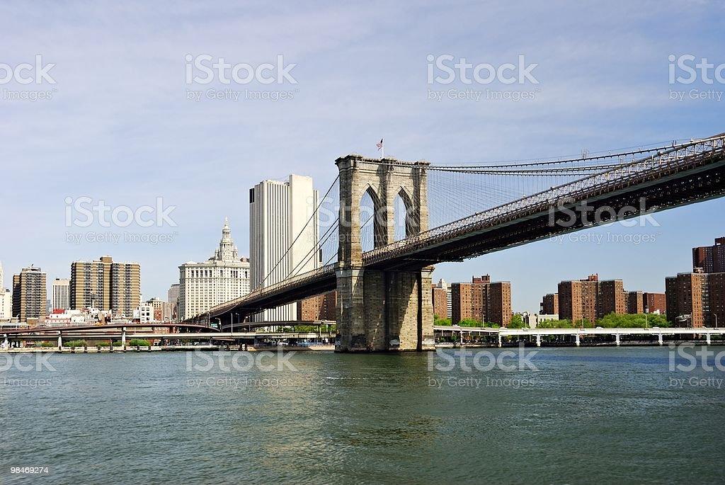 Ponte di Brooklyn New York foto stock royalty-free